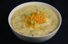 Bone Suckin' Cheesy Potato Soup Recipe