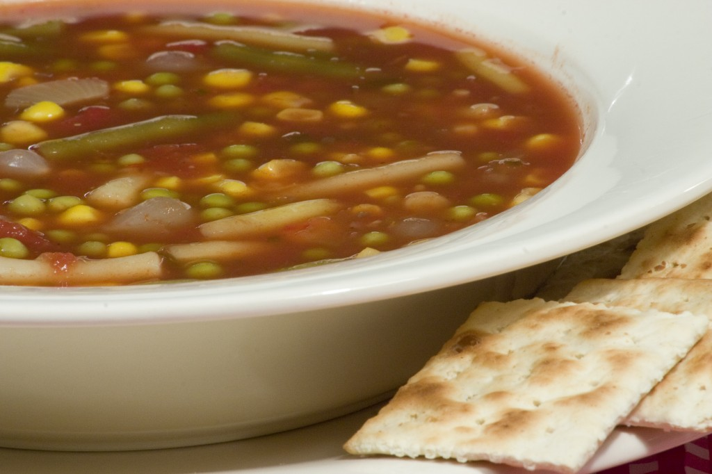 Bone Suckin'® 10 Minute Vegetable Soup Recipe