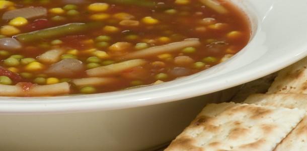 Bone Suckin' 10 Minute Vegetable Soup Recipe