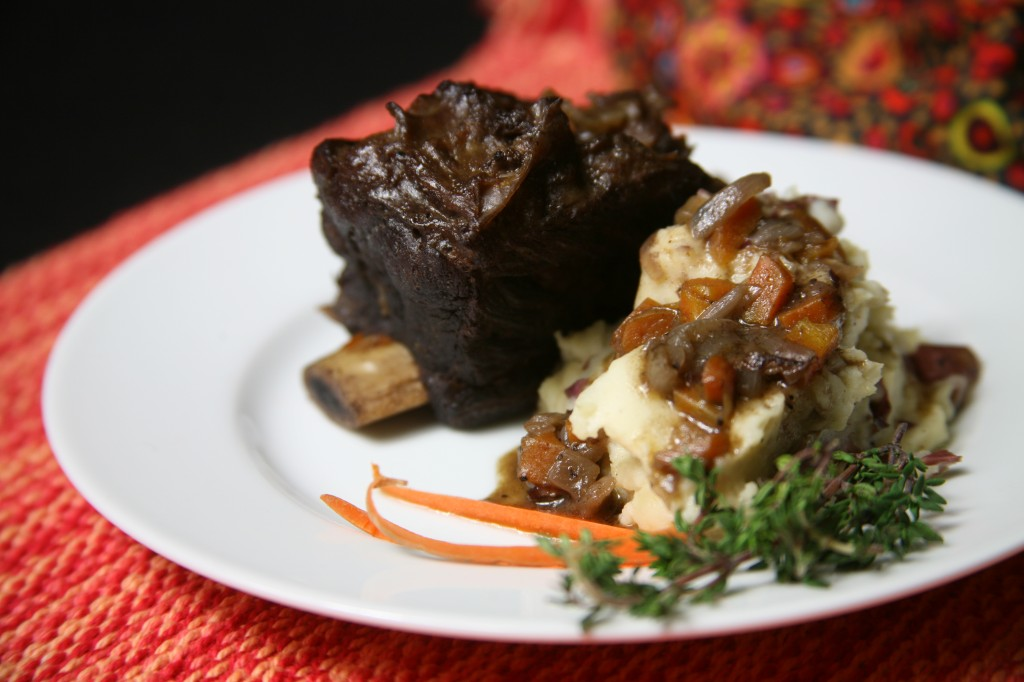 Bone Suckin' Rubbed Short Ribs Recipe
