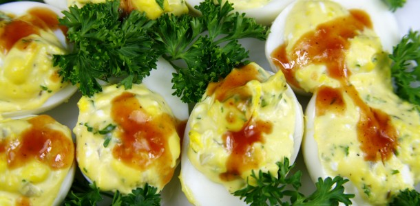 Bone Suckin' BBQ Deviled Eggs Recipe