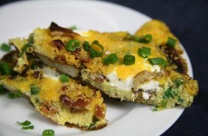 Bone Suckin' Baked Potato Frittata Recipe