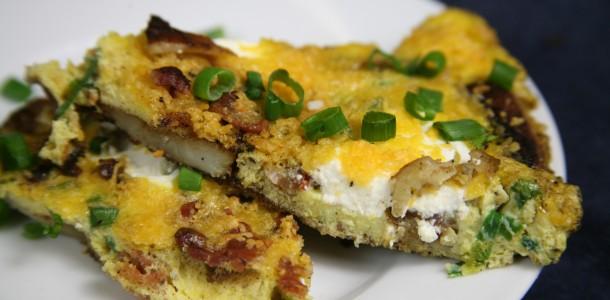 Bone Suckin' Baked Potato Frittata Recipe