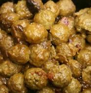 Bone Suckin' Cran-Cherry Meatballs Recipe