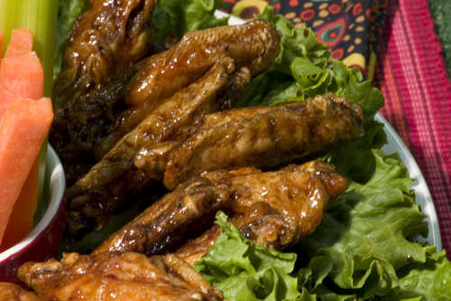 Bone Suckin' Habanero Hot Wings Recipe