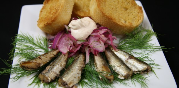Bone Suckin' Sardines and Onion Relish Recipe