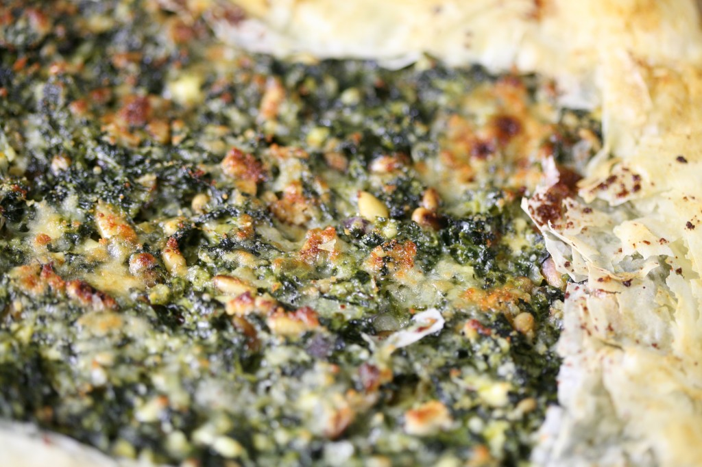 Bone Suckin'® Spinach and Feta Galette Recipe