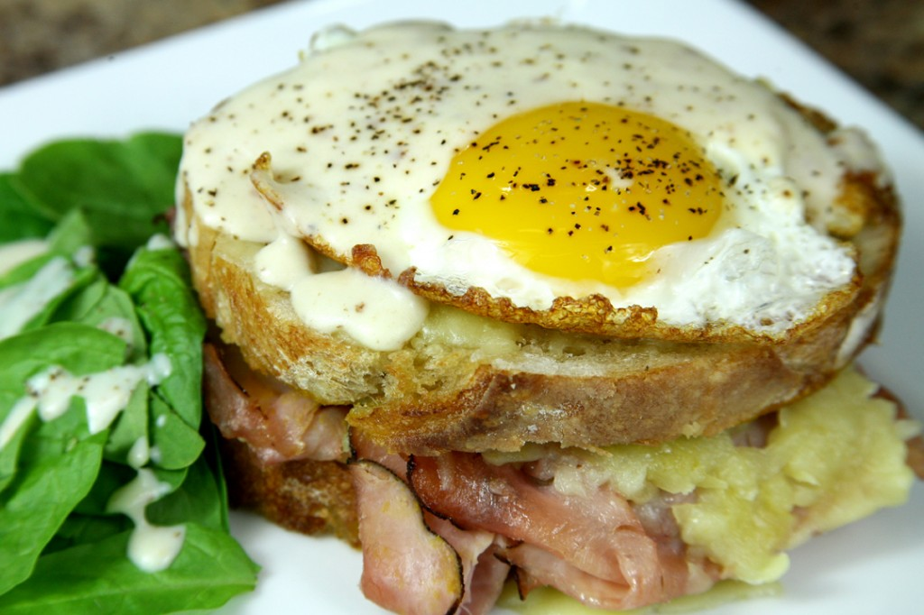 Bone Suckin'® Croque Madame Recipe
