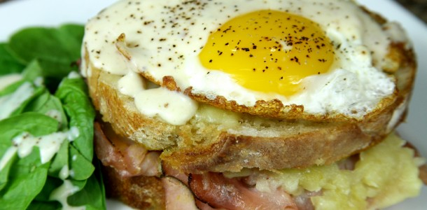 Bone Suckin' Croque Madame Recipe