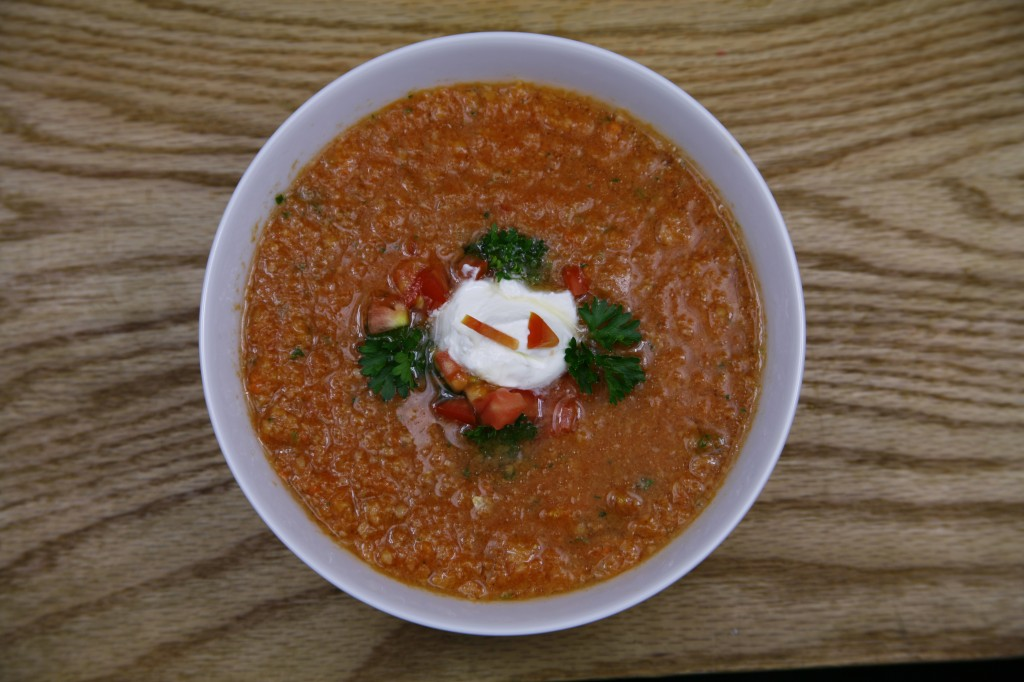 Bone Suckin'® Spicy Gazpacho Recipe