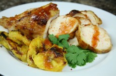 Bone Suckin' Grilled Chicken and Plantains Recipe