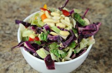 This Bone Suckin' Cabbage Lime Peanut Salad Recipe will refresh any meal !