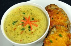 Bone Suckin' Cheddar Broccoli Soup Recipe