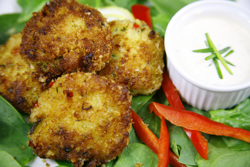 Bone Suckin'® Crab Cakes Recipe