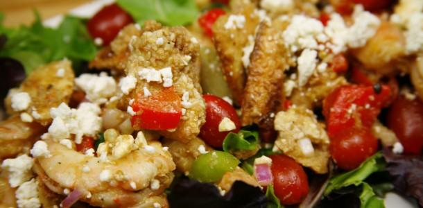 Bone Suckin' Grilled Shrimp and Bread Salad Recipe