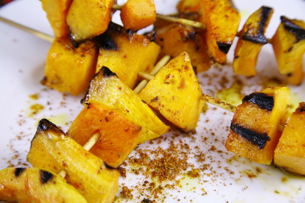 Bone Suckin'® Grilled Butternut Squash Recipe