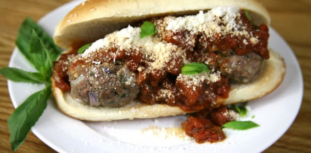 Bone Suckin' Meatball Sub Recipe