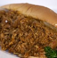 Bone Suckin' Mustard BBQ Sandwich Recipe