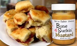 Mustard-Ham-Biscuits