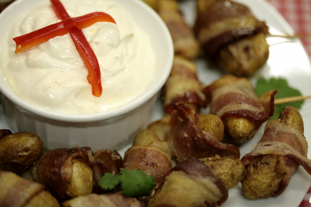 Bone Suckin'® Bacon Wrapped Potatoes Recipe