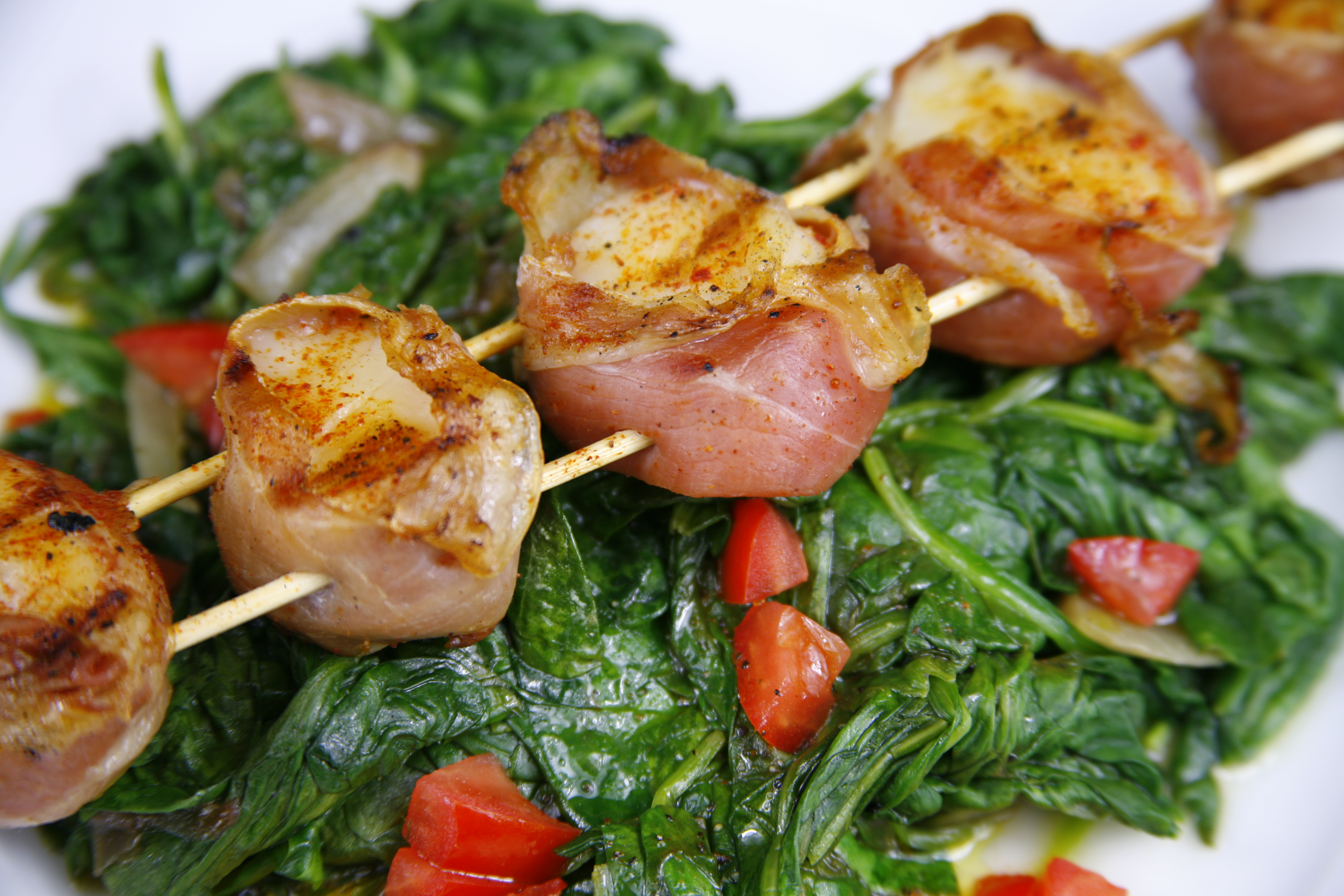 wrapped with prosciutto grilled scallops wrapped in prosciutto grilled ...