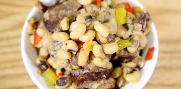 Bone Suckin' Spicy Peas and Sausage Recipe