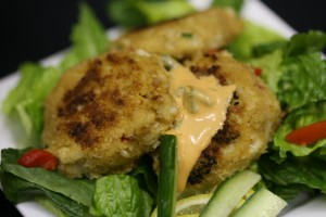 Bone Suckin'® Fire Dancer Crab Cakes Recipe