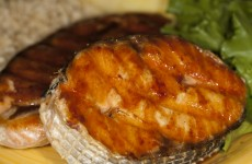 Bone Suckin' Grilled Salmon Steaks Recipe