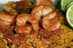 Bone Suckin'® Shrimp and Rice Recipe