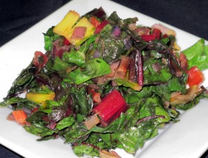 Bone Suckin'® Swiss Chard Recipe
