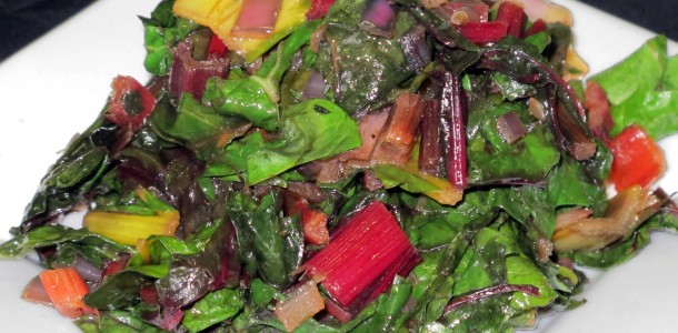 Bone Suckin' Swiss Chard Recipe