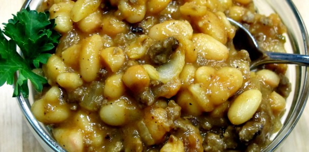 This Bone Suckin' Baked Beans Recipe uses our Bone Suckin' Sauce and Our Bone Suckin' Sweet Spicy Mustard to make a delicious side dish or meal.