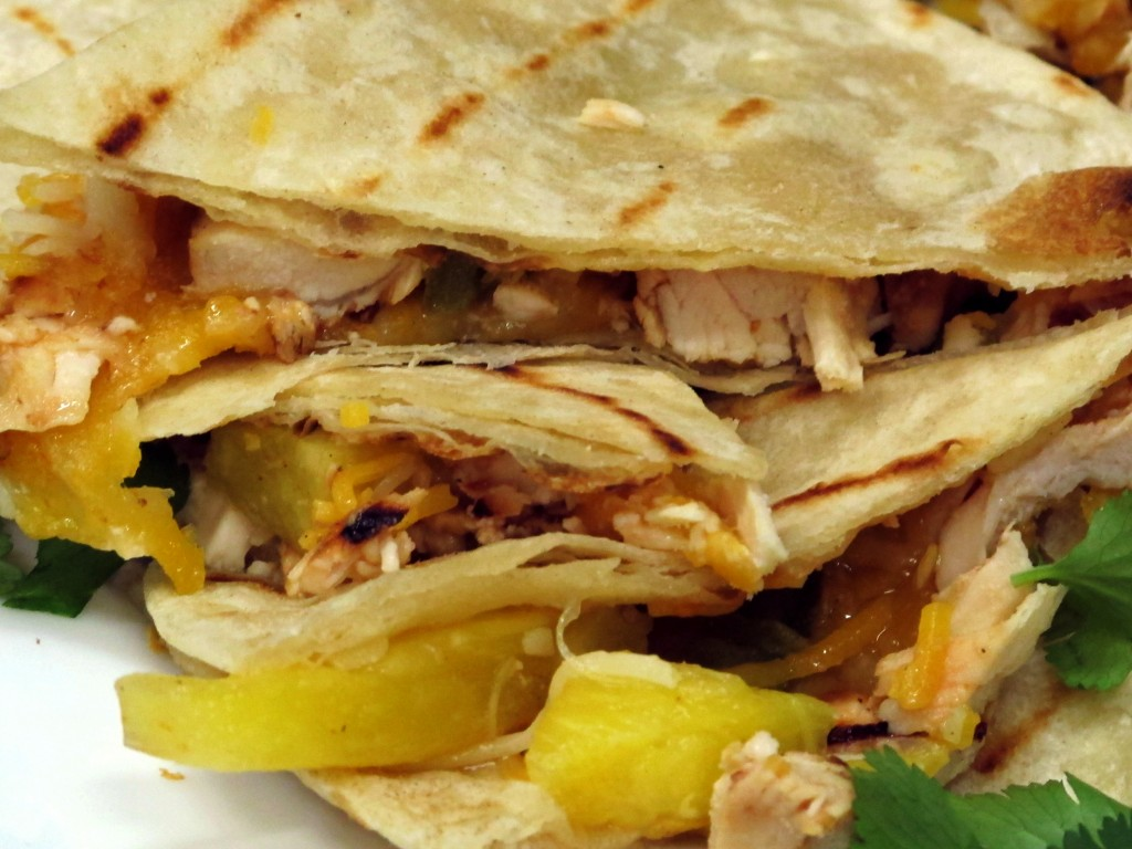 ... – Bone Suckin'® Grilled Chicken & Pineapple Quesadilla Recipe