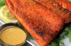 Bone Suckin' Salmon Mustard Sauce Recipe
