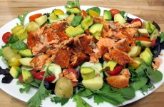Bone Suckin' Salmon Salad Recipe