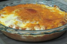 This Bone Suckin'® Refried Beans Casserole Recipe is so tasty, you will love it!