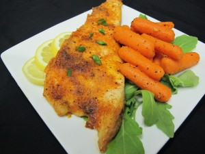 Bone Suckin'® Broiled Flounder Recipe