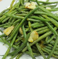 Bone Suckin Garlic Green Beans Recipe