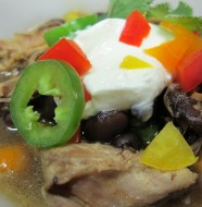 Bone Suckin' Black Bean & Pork Soup Recipe
