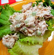 This refreshing Bone Suckin' Chicken Salad will cool your palate on a hot summer day.