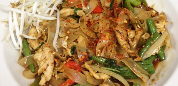Bone Suckin'® Thai Drunken Yaki Noodles Recipe