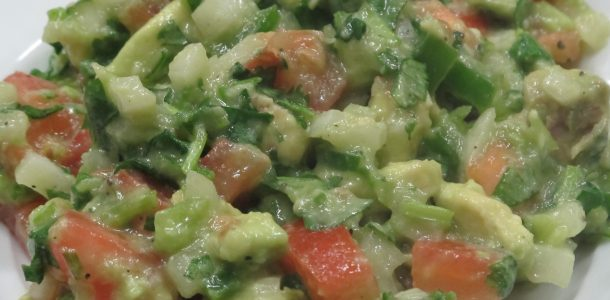 Combine freshly diced avocado, tomatoes, onion, jalapeno, and cilantro in addition to our Organic Lemon Pepper Seasoning and you will enjoy a refreshingly delicious treat.