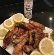 Crispy Lemon Pepper Wings Baked In The Oven