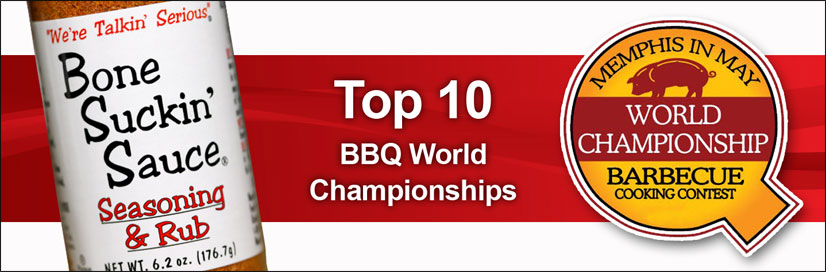 Top 10 BBQ World Championships Memphis in May!