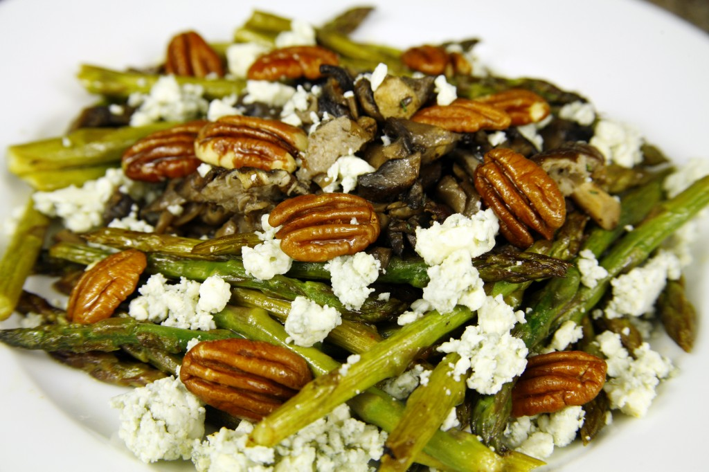 Bone Suckin'® Asparagus Mushroom Salad Recipe