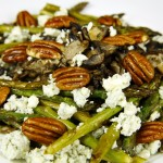 Bone Suckin' Asparagus Mushroom Salad Recipe