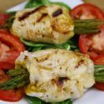 Bone Suckin' Chicken and Asparagus Rollups Recipe
