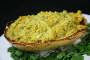 Bone Suckin'® Baked Spaghetti Squash Recipe