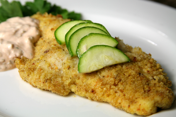 Bone Suckin'® Cajun Catfish with Remoulade Recipe
