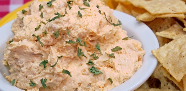 This simple No Bones Party Dip is simply wonderful for parties and other gatherings.